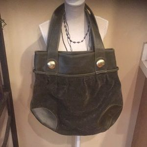 Handbags - Olive purse good condition very roomy inside
